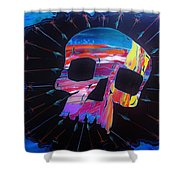 Negative Relations 7 Shower Curtain