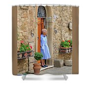 Neighborhood Watch Shower Curtain