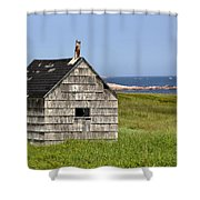 Neils Harbour Shower Curtain