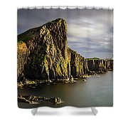 Neist Point Coastline Shower Curtain