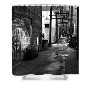 Nelson Bc Alley Shower Curtain