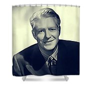 Nelson Eddy, Vintage Actor Shower Curtain
