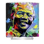 Nelson Mandela Madiba Shower Curtain