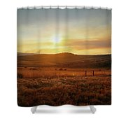 Nelspruit, South Africa Shower Curtain