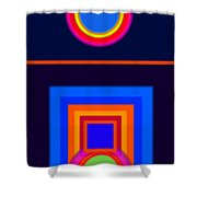 Neo-classical Cool Shower Curtain