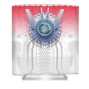 Neo Tech Shower Curtain