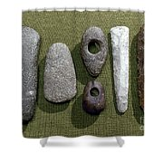 Neolithic Tools Shower Curtain