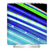Neon 107c Shower Curtain