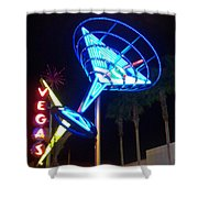Neon Signs 1 Shower Curtain