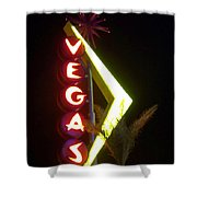 Neon Signs 2 Shower Curtain