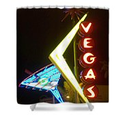 Neon Signs 3 Shower Curtain