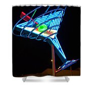 Neon Signs 4 Shower Curtain