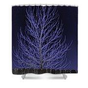 Neon Tree Shower Curtain