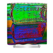 Neon Vessels Shower Curtain