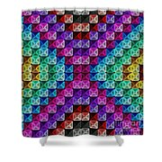 Neonbow Shower Curtain