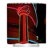Neonopolis - Las Vegas Shower Curtain