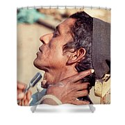 Nepal Shave Shower Curtain