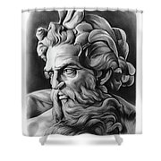 Neptune Shower Curtain