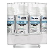 Nerve Aid Essentials Review - Proven Ingredients Relieve .. Shower Curtain