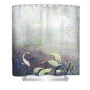 Net Loss Shower Curtain