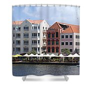 Netherlands Antilles Shower Curtain