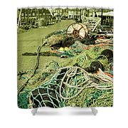 Nets N Ropes  Shower Curtain