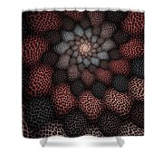 Netted Petals Shower Curtain