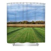 Neunen Fields Shower Curtain