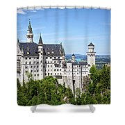 Neuschwanstein Castle Of Germany Shower Curtain