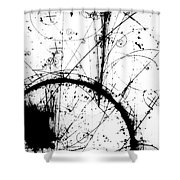 Neutrino, Bubble Chamber Event Shower Curtain