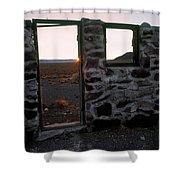 Nevada Pioneer History Shower Curtain