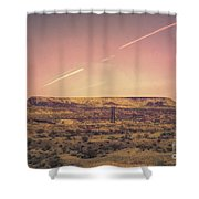 Nevada Usa Valley Of Fire  Shower Curtain
