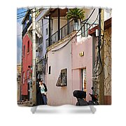 Neve Tzedek Neighborhood In Tel Aviv Shower Curtain