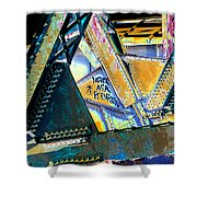 Never Ask Permission Shower Curtain