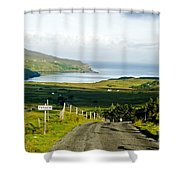 Never Never Land Shower Curtain