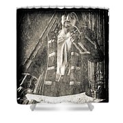 Never Neverland Captain Hook Shower Curtain