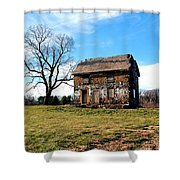 Never Too Late To Go Home Shower Curtain
