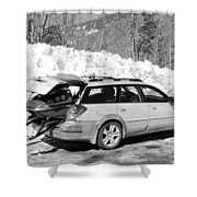 Never Without A Ride Shower Curtain