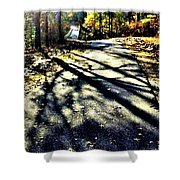 Neverending Path Shower Curtain