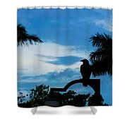 Nevermore In The Tropics Shower Curtain