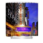 New Amsterdam Theatre Shower Curtain