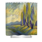 New Beginning 3 Shower Curtain