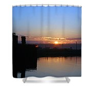 New Beginnings - Keystone Sunrise Sr 1003 Shower Curtain