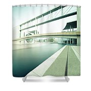 New Berlin Architecture - The Government District Shower Curtain