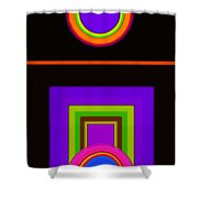 New Black Classic Shower Curtain