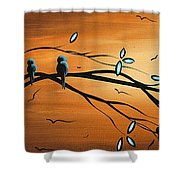 New Bloom By Madart Shower Curtain