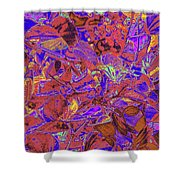 New Bloom Orchid 23 Shower Curtain