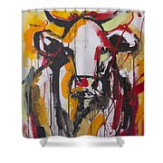New Breed Cow 3 Shower Curtain