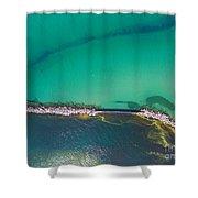 New Buffalo Michigan Shower Curtain