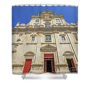 New Cathedral Of Coimbra Shower Curtain